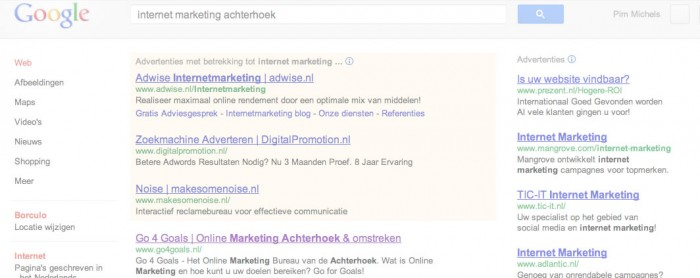 Google Optimalisatie